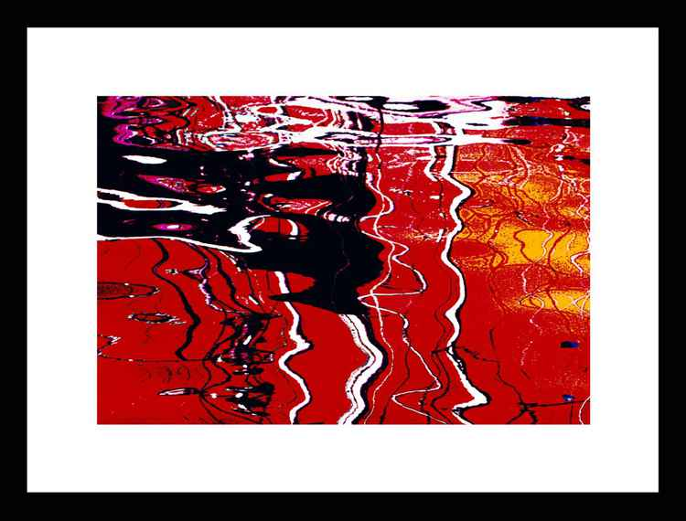 Natural Abstracts - Marina Reflections number 1 - Mini