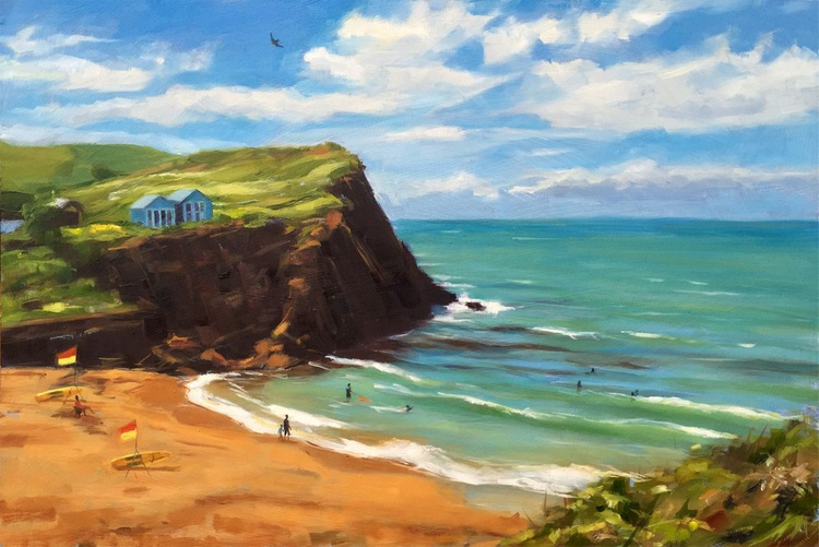Sunny day at Hope Cove - Image 0