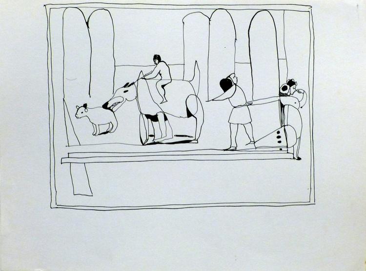 The Animal Farm, 24x32cm - Image 0