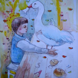 Goose by Aurelija Kairyte - Smolianskiene