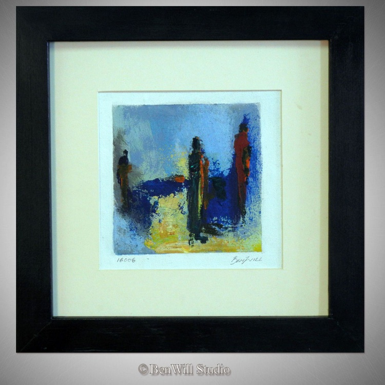 Daily Painting 16006 Framed 14x14 - Image 0