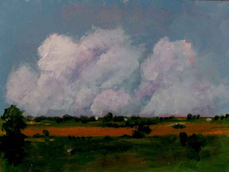 #A104 - Country view with clouds