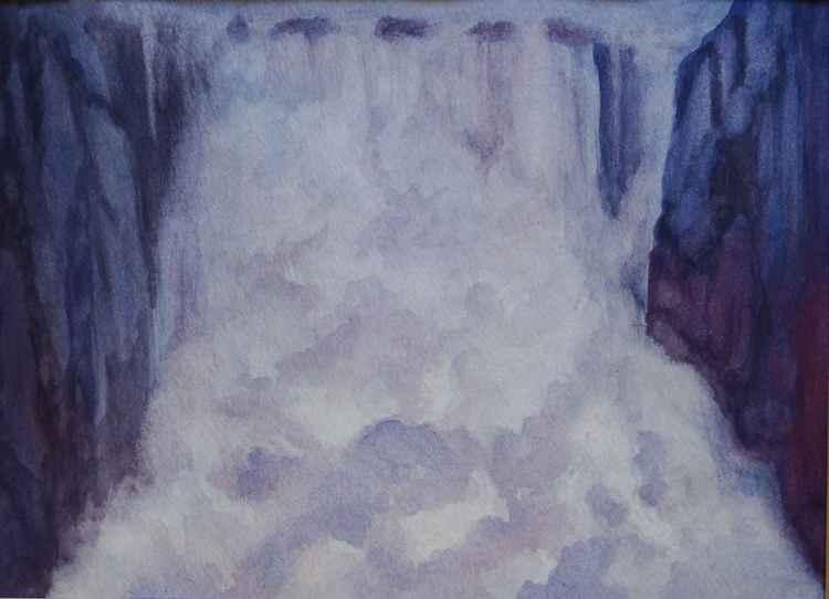Waterfall, Wales -