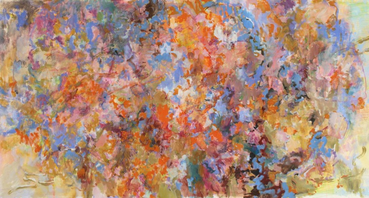 Dream Projection - Large Abstract Painting 95x172cm - Image 0