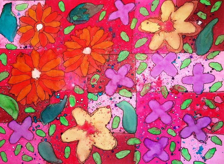 Petals on the Sidewalk - Image 0