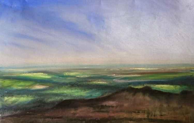 View From The Wrekin, Shropshire. No.4 -
