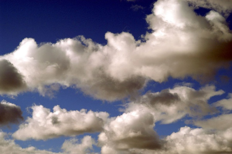 White Clouds Blue Sky - Image 0