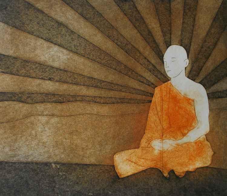 Golden buddha -
