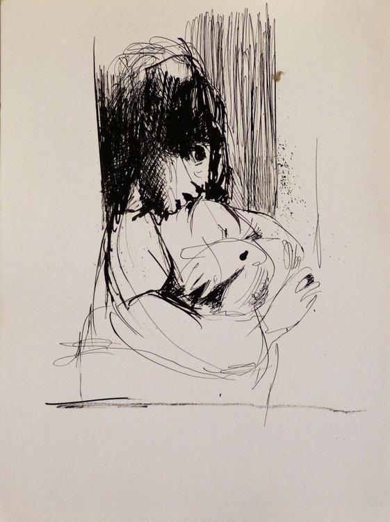 Maternity 12, 24x32 cm - Image 0