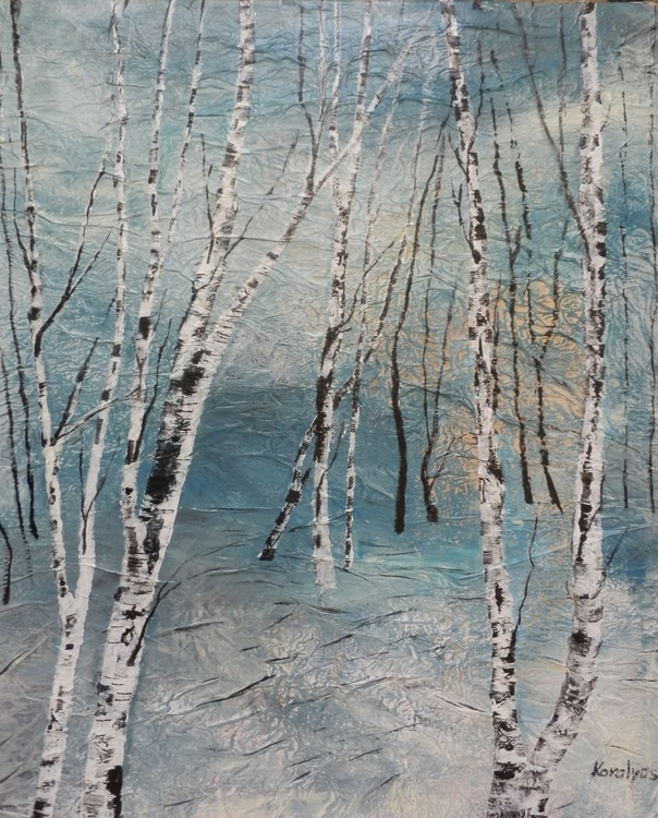 Cluster of birches - Image 0