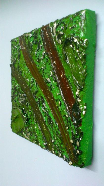 Part of Brocéliande #1373 (15x15cm) - Image 0
