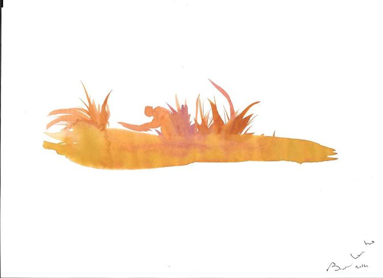 Gold Panner #6, 21x29 cm - Image 0
