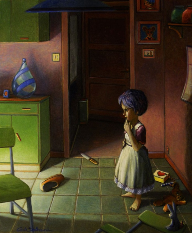 IN THE ROOM - (framed) - Image 0