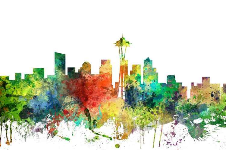 Seattle, Washington Skyline SP -