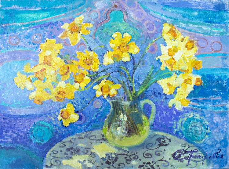 Narcissus tenderness. - Image 0