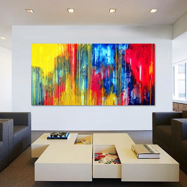 The Emotional Creation #110, 200 x 100 cm - 80 x 40 in - Image 0