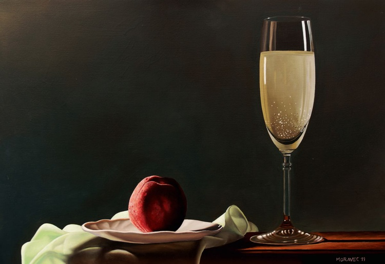 Peach and Champagne - Image 0