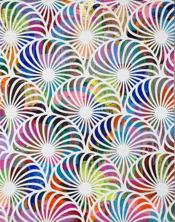 Psychedelic Pinwheels -