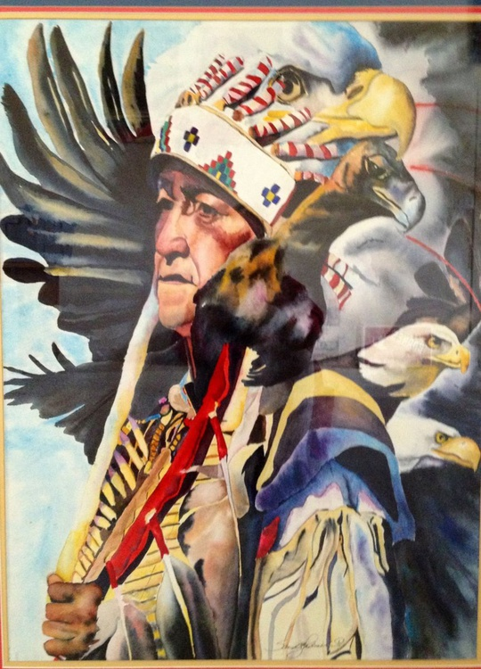 Chief Eagle's Coup - Image 0