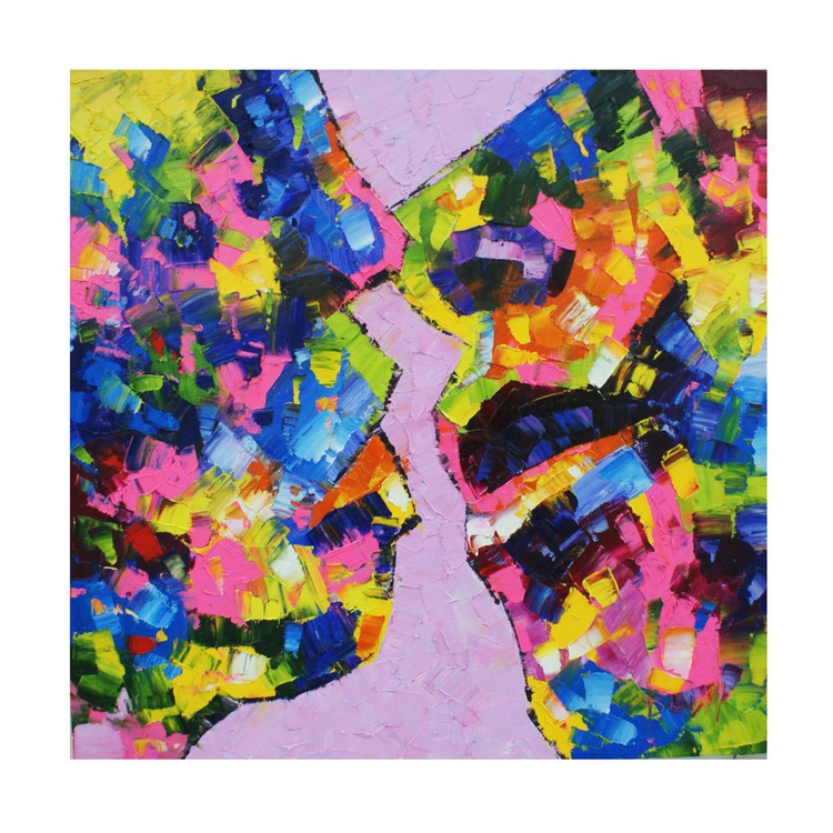 "The Painting ""The Kiss"" - Image 0"