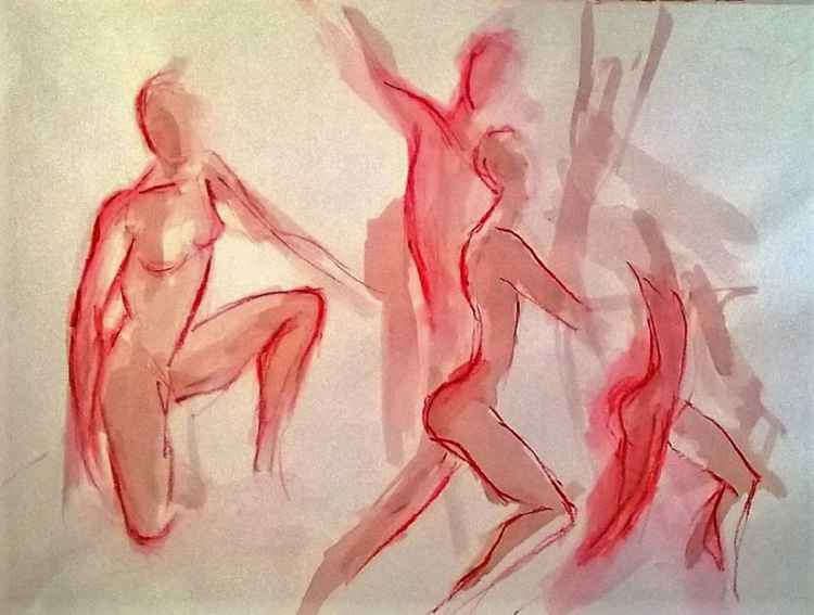 Dancers Rehearsing, Quick Poses 2 -