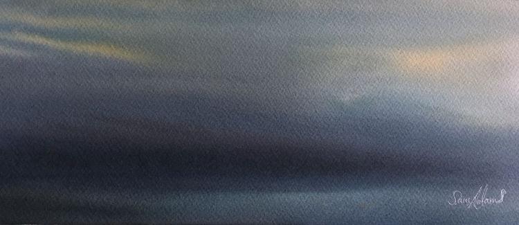 Blues over light. - Image 0