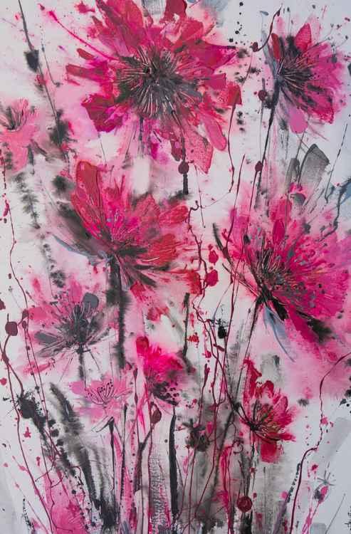 Pink Floral Explosion