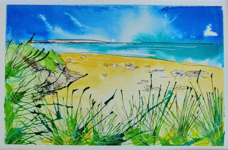 Hayle beach, Cornwall - Image 0