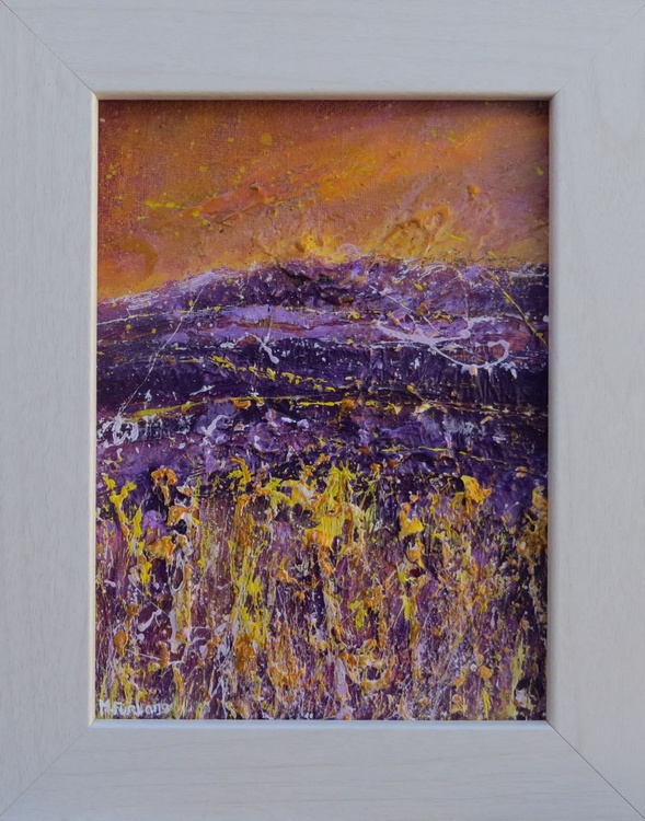 In Purple And Gold, April 2016 (framed) - Image 0