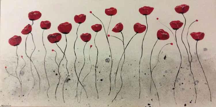 Dancing Poppies -