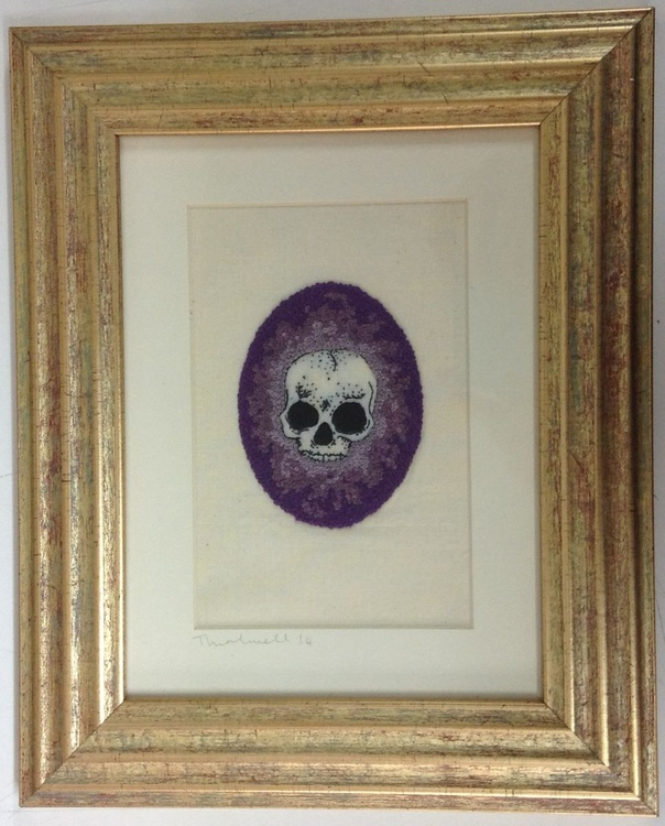 French Knot Skull - Image 0