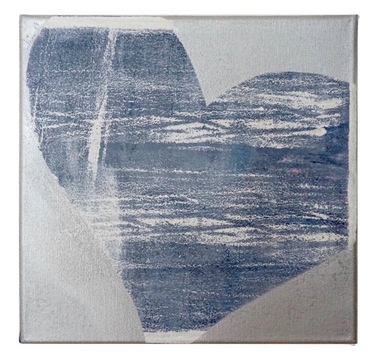 Denim heart - Image 0