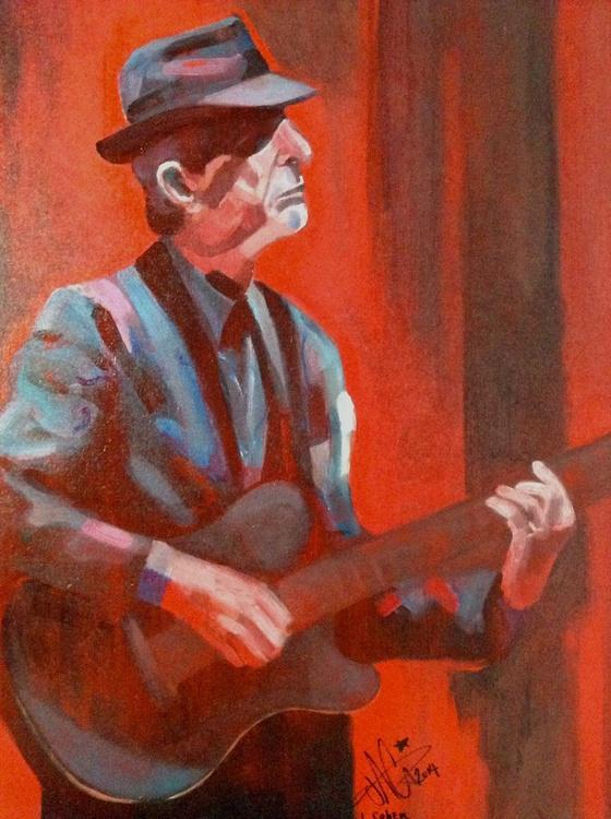 Leonard Cohen. Pyrrole Red Series - Image 0