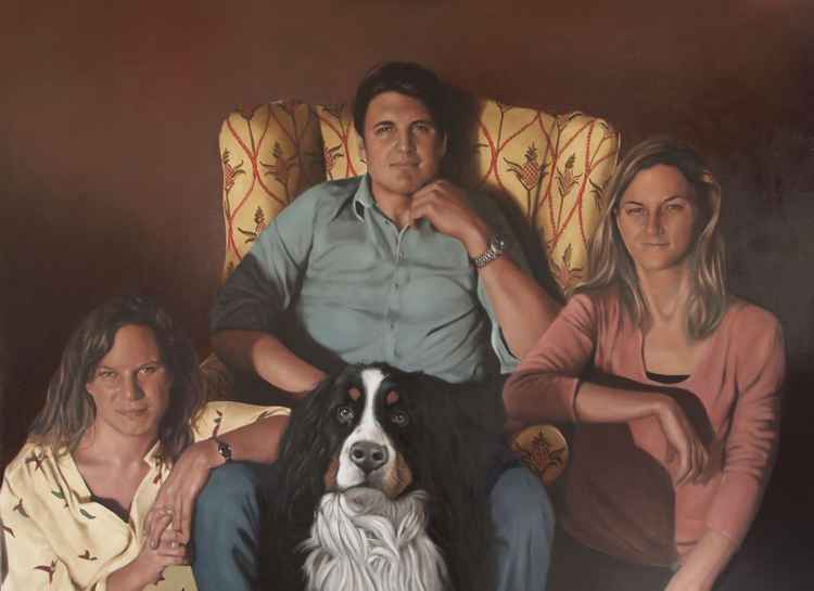 Family portrait commission -
