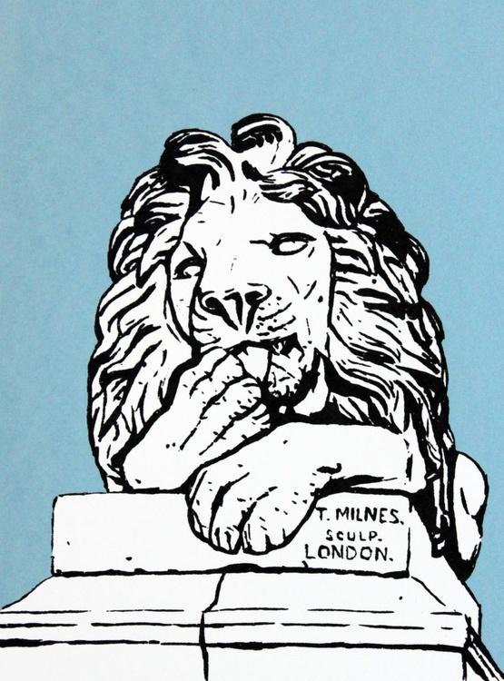 Peace, Saltaire Lion - Image 0