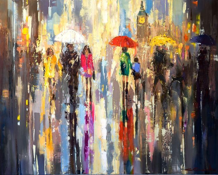 'London Rain II' - Image 0