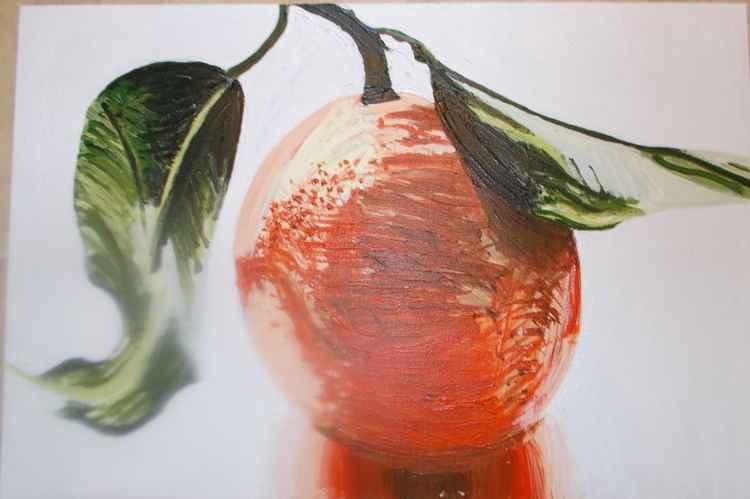 An orange -