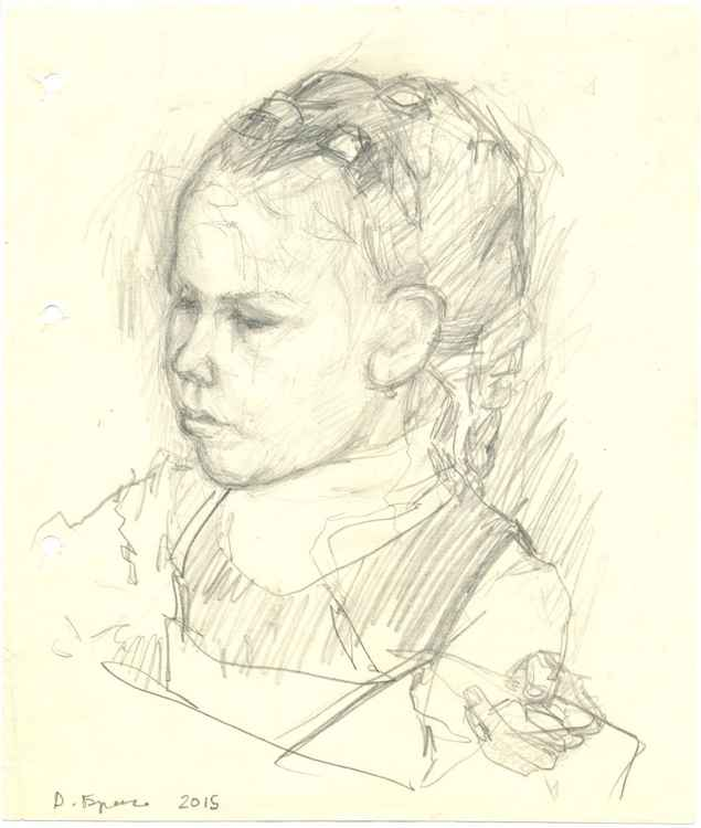 Child portrait #2 (sketch) -