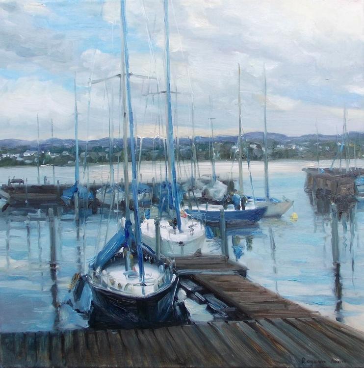 Evening harbor - Image 0