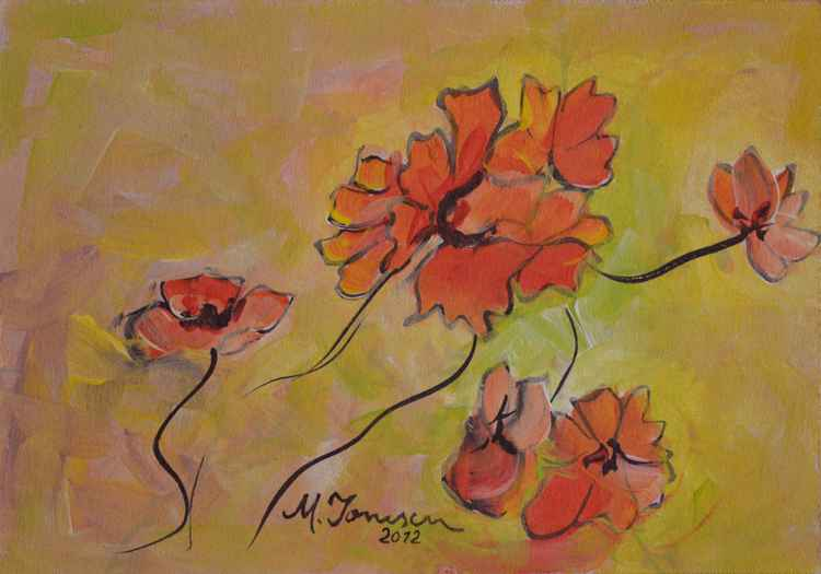 """""""Warm Flowers"""""""