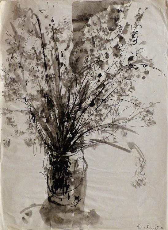 Still Life: Bouquet, 36x50 cm - Image 0