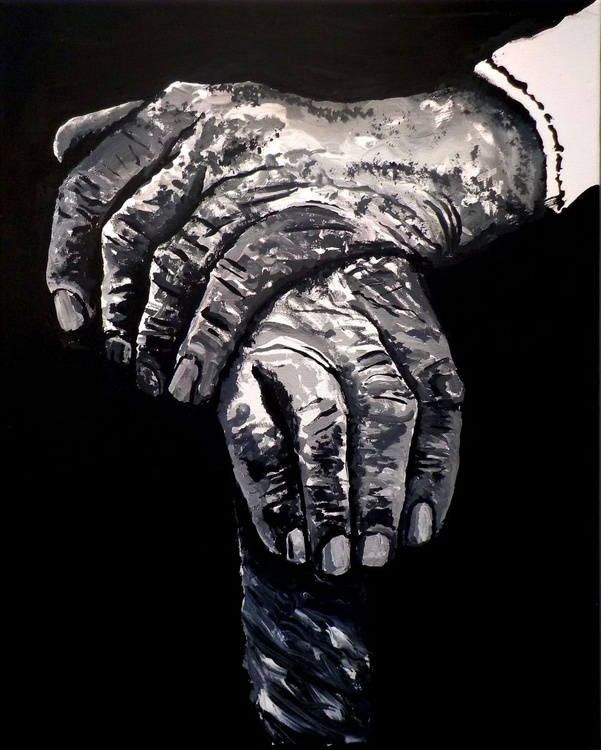 The hands of my grandfather. - Image 0