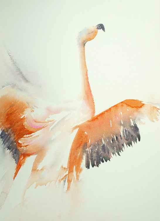 Feathery flourish -