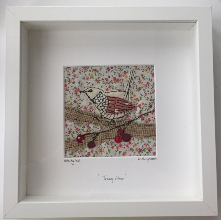 Floral Jenny Wren - Image 0