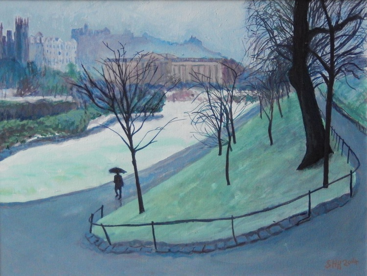The Scottish National Gallery, Winter - Image 0