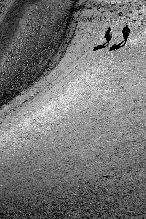 The sands of the Mont St Michel - The long walk - Image 0