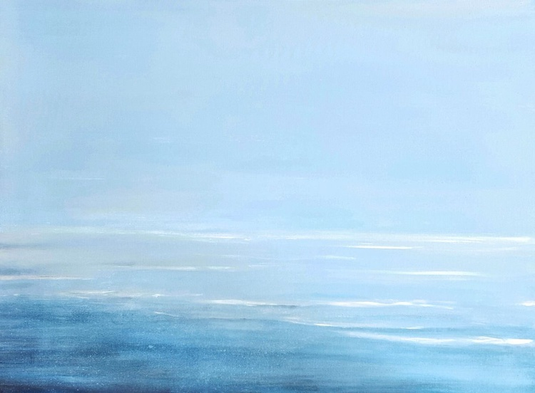"""Being Still"" large 48""x36"" - Image 0"