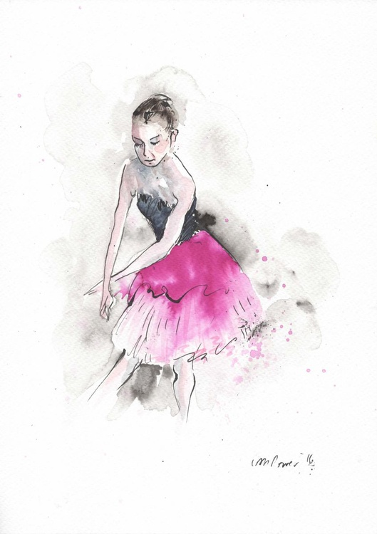 Young Ballerina - Image 0