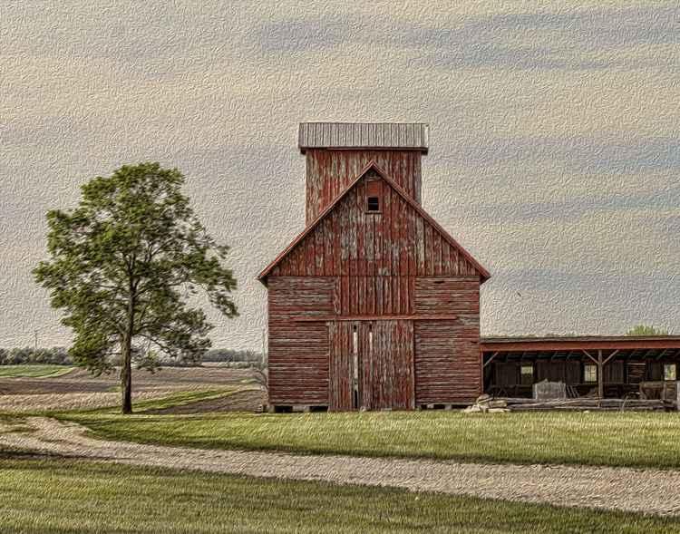 Prairie Corn Crib -