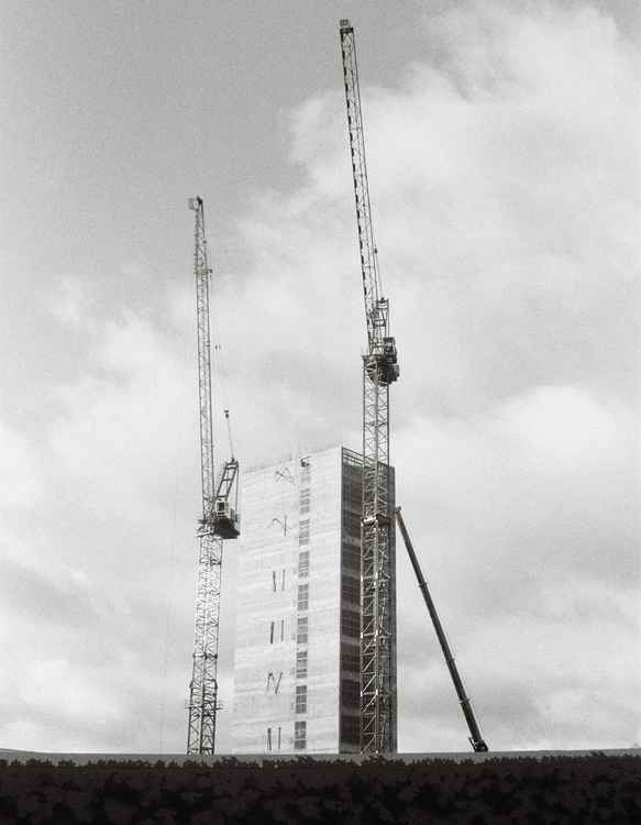 Building and cranes